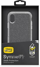 Genuine OtterBox Symmetry Series Rugged Slim Glitter Clear Case Cover iPhone XR