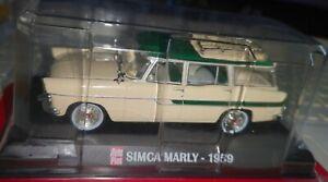 SIMCA Marly 1959 break1/43 IXO AUTO PLUS neuve non déballée