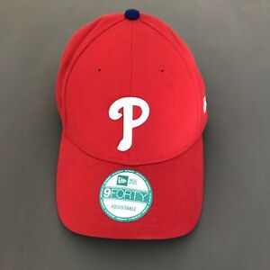 Philadelphia Phillies New Era 9FORTY Red Adjustable Hat
