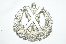 WW2 Canadian Queens Own Cameron Highlanders Of Canada Cap Badge