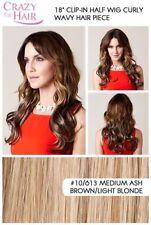 Perruques, extensions et matériel cheveux synthétiques bruns bouclés pour femme