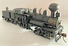 Bachmann Spectrum HO 80 ton 3 truck Shay locomotive Undecorated