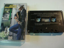 Alan Jackson - Here In The Real World - Cassette Tape 1989 Canada