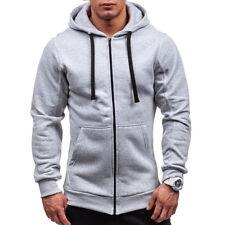 Men's Outwear Sweater Winter Hoodies Warm Jumper Coat Jacket Hooded Sweatshirts