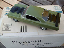 MATCHBOX 1970 PLYMOUTH ROAD RUNNER HEMI, DIECAST MIB WITH CERT. OF AUTHENTICITY