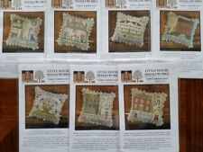 """Little House Needleworks Counted Cross Stitch """"Early Americans"""" patterns"""