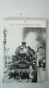 FdE - Kalender 1970 Europäischer Eisenbahn Kalender   B-15368