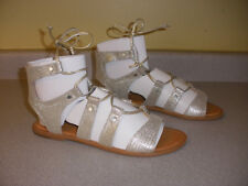 NIB Dolce Vita Gold Colored Jasmyn Gladiator Sandal 8