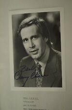 Chevy Chase  Original Autogramm signed Autograph