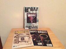 SIGNED Joe Hill Locke & Key Slipcase Series SDCC 2008 Exclusive IDW + Pic RARE