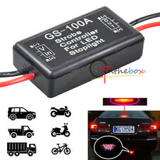 12V GS-100A LED Brake Stop Tail Light Strobe Flash Module Controller Box Module