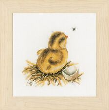 PETIT POUSSIN - 2 (AIDA): Lanarte Counted Cross Stitch Kit-PN0165383
