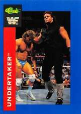 1991 Classic WWF World Wrestling (WWE) Trading Cards Pick From List