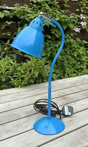 Cath Kidston Angle Poise Desk Table Lamp Blue