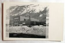 OLD UNDATED EASTPORT IDAHO HOTEL STORE RPPC POSTCARD PEPSI COLA ADVERTISING SIGN