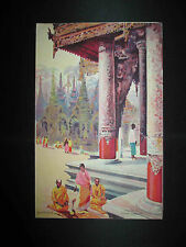 ancien menu Champagne Charles Heidsieck Birmanie 1930 début XX ème
