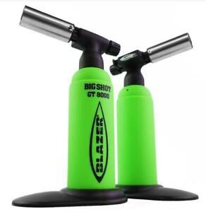 Blazer Big Shot Torch GT8000 Limited Edition Neon Green w/ Black Logo - USA