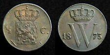 Netherlands - Halve Cent 1873 Prachtig+