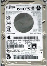 Fujitsu MHW2160BH MAC 160GB P/N: CA06820-B39900AP DATE: 2007-08-23 APPLE