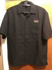 Miller Brewing ~ Lrg ~ Genuine Draft Beer ~ Cabana Hawaiian Delivery Work Shirt