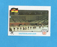 INNSBRUCK 76-PANINI-Figurina n.226-GERMANIA DDR SQUADRA/TEAM -HOCKEY-Recuperata