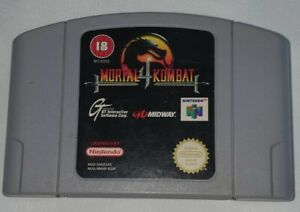 Mortal Kombat 4 Nintendo 64 N64 Spiel Getestet