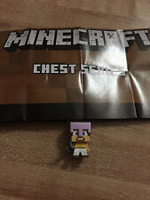 MINECRAFT Chest Series 1 *STEVE MISMATCHED ARMOR* Mini-figure