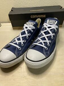 Converse Chuck Taylors All Star Low Cut Navy X9697 Men's Size 13