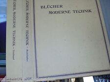 21231 MUSTERBUCH VERTRETERMUSTER Blücher  Moderne Technik 1912 Modellatlas