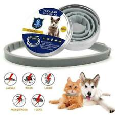 Flea and Tick Collar Dog Cat 8 Month Protection Adjustable Anti Insect UK
