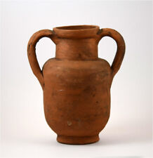 Roman redbrown pottery storage jug