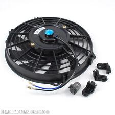 """9 """" 9 pouces 12 volt electric ventilateur de refroidissement push pull pour radiateur intercooler"""