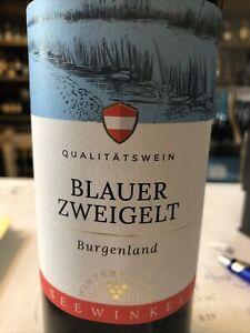 6 x0,75l Blauer Zweigelt 2018Rot Burgenland Qualitätswein Österreich Seewinkel