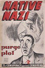 Native Nazi - The Conspiracy Against Congress (1942) (Wartime US Propaganda)