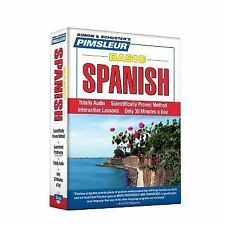 PIMSLEUR Learn to Speak SPANISH Language 5 CDs NEW!