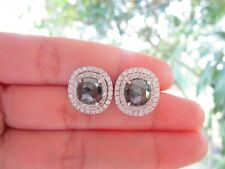 6.63 Carat Diamond White Gold Earrings 14k sepvergara
