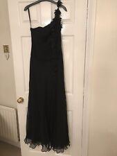 Star By julienne mcDonald Black Chiffon Evening Dress