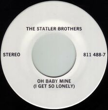 STATLER BROTHERS Oh Baby Mine ((**NEW UNPLAYED PROMO 45**)) from 1983
