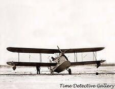 A Vintage Amphibian Bi-plane - 1925 - Historic Photo Print