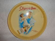 Vintage Olympia Beer Serving Advertising Tray