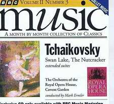 ERMLER / ROYAL OPERA HOUSE Tchaikovsky SWAN LAKE CD BBC MM115 1993