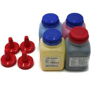 60g x 4 toner refill for Lexmark C3224dw, C3326dw, MC3224, MC3326adwe no chip