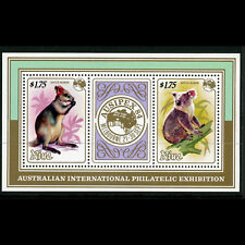 NIUE 1984 Ausipex. Animals. Wallaby Koala. SG MS 560. Mint Never Hinged. (AB632)