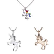 Markenlose Modeschmuck Halsketten Einhorn günstig kaufen | eBay