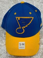 ST. LOUIS BLUES CCM Structured Flex Fit Hat Cap S/M NEW