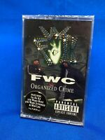 FWC ‎– Organized Crime Cassette Tape 1998 Hype Sticker Houston Texas Rap SEALED