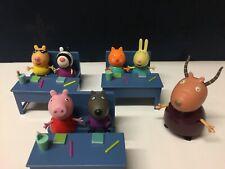 Peppa Pig Classroom School Set With Madam Gazelle
