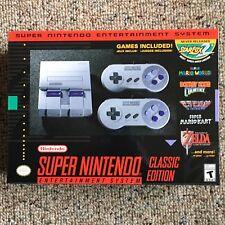 Super Nintendo Entertainment System - SNES Classic Edition Mini - Super NES -New