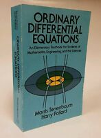Dover Books on Mathematics: Ordinary Differential Equations by Harry Pollard...