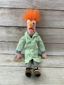 "2004 Muppets ""BEAKER"" 3D Vision Disney World Plush 12 Inch Doll Rare"